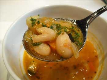 夜光杯スープ