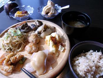大地のテーブル 料理