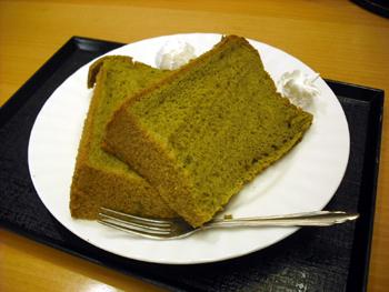 茶菓 抹茶シフォン
