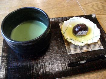 春日 お茶