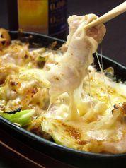 うちわ 対馬地鶏のチーズ焼き
