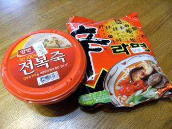 韓国マダン 食材