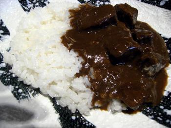 まつ匠 じっくり煮込んだ長崎黒毛和牛バラ肉のカレーライス